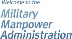 Welcome to the - Military Manpower Administration